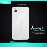 amazing protective covers - NILLKIN Amazing H Nanometer Anti Explosion Tempered Glass back cover protective Film for Huawei Honor i