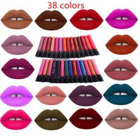Wholesale Long Lasting Dose Of Color Lipstick colors Makeup Lip Gloss Waterproof Lime Crime Velvetine Liquid Matte Lipstick