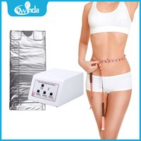 Wholesale Hot Sale cheap home use zones infrared sauna blanket body slimming blanket far infrared body wrap for losing weight and lymphatic drainage