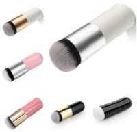Wholesale New colors Explosion models chubby pier foundation brush flat cream makeup brushes Professional Cosmetic Make up Brush b342