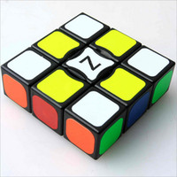 Wholesale New Product High Quality Entry Profession Cube x3x3 Magic Cube Half Bright Stickers Cubo Magico Best Gift