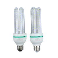 Économie d'énergie 1Pcs CE E27 12W 2835 SMD Ampoule de maïs LED AC85-265V forme de U Lumière lumineuse élevée de projecteur LED lampe libre shiping