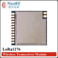 Wholesale NiceRF LoRa1276 Wireless Transceiver Module MHz SPI Interface RF Transmitter Receiver with Antenna receiver microphone