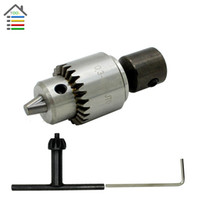 Wholesale New mm Electric Drill Chucks Mount JTO Taper for Lathe PCB Mini Drill Bits Presses for mm Motor Shaft Shank Rotary Tools order lt no t