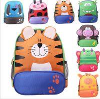 Wholesale Best Price Children kids shoulder bags boys grils cute cartoon animals backpacks hand bags kids school bags baby kids styles by dhl