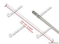 al por mayor cold cathode tube-Envío Gratis Nueva Lote de lámparas de cátodo frío de 5pcs 255mm 12.1
