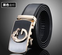 active apparel - Hot New Mens Genuine Leather Belt with Fashion Automatic Alloy Buckle Cow Leather Luxury Man s Belt for Apparel Accessories