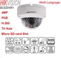axis outdoor ip camera - HIKVISION DS CD3145F I MP POE Micro SD TF Slot Tri Axis H Dome IP Camera