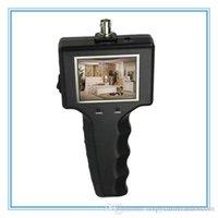 Monitor portátil de prueba de circuito cerrado de televisión de 2,5 pulgadas, cámara de seguridad CCTV cámara de vídeo Tester, monitores de seguridad, servicio de mini CCTV LCD Monitor de Tester