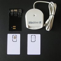 Wholesale Blutronics Bludrive II LTE FDD WCDMA CCID SIM USIM G Smartcard Reader Writer Tool Programmer LTE Blank USIM Card SIM Card Converter
