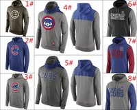 Wholesale MLB Cubs of Anaheim hoodies Baseball jerseys Chicago Salute To Service Gold Collection Pullover Hoodie freeshipping