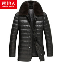 Wholesale Fall Nanjiren winter new men s leather business mink wool collar sheep skin jacket