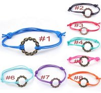Charm Bracelets Bohemian Women's Bracelets for women 2017 Jewelry Multicolor metal Pendant Retro rope chain Weave friendship bracelets charm diy wholesale