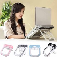 Wholesale NEW Multi functional Adjustable Foldable Laptop radiator base Stand Tray Portable