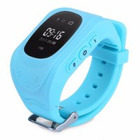 baby pulse monitor - 2016 Smart Kid Safe GPS Watch Wristwatch SOS Call Location Finder Locator Tracker for Kid Child Anti Lost Monitor Baby Gift Q50