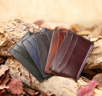 beautiful black men photos - Beautiful credit card ID card wallet Italian soft leather handmade patinas berluti style custom logo high quality wallet