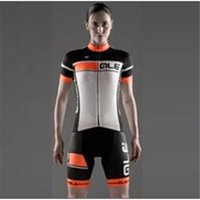 Wholesale 2016 Style ALE women Cycling Jerseys Set Short Sleeve With Padded Bib Trousers Men Summer Cool Cycling Skinsuit Bike Wear XS XL