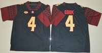 Football dalvin cook jersey - 4 Dalvin Cook Red Black White Color FSU College Football Limited Jerseys New Style Cheap Stitched Jersey Embroidery logos