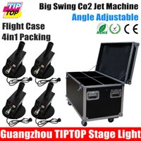 angle flights - TIPTOP Flight Case in1 Packing Big Swing Co2 Jet Machine W No Led Lamp Strong Carbon Dioxide Projector Easy Angle V V