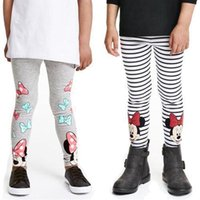age animals - 2016 pieces Cotton Kids Trousers Pants Girls Mickey Minnie Leggings Age Y