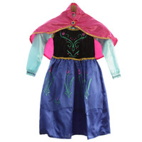 baby gifts spandex - Spring Autumn Children Baby Girls Princess Dresses Elsa Anna Dresses For Girls s Birthday Gifts Dress Up Princess Party Halloween Costumes