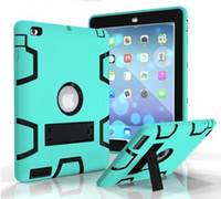 Wholesale Package in Defender shockproof Ipad case Heavy duty protective STAND Cover for ipad air mini New