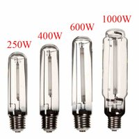 Wholesale Modern Design E40 W W W W HPS Lamp White Light High Pressure Sodium Flower Bulb Plant Grow Light For Ballast