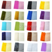 table runner - 12x108 quot Organza Table Runner Cloth Colors Vintage Cogan Organza Table Runner for Wedding Party Decoration Table Cloth