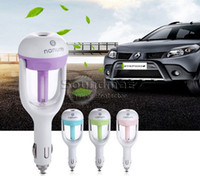 Wholesale Nanum Car Plug Air Humidifier Purifier Mini Vehicle Humidifier Car Steam Air Purifier Aroma Mist Car Fragrance Diffuser Mist Maker Fogger