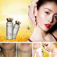 Wholesale AFY High end Gold Revive Neck Essence Anti wrinkle Whitening Moisturizing Serum Beauty Women Skin Care Anti aging