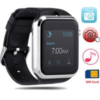 Wholesale Wearable devices smart watch Message Bluetooth Android Connected clock Smartwach Support SIM Card Phone Smartwatch PK GT08 Better Than dz09