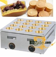 adzuki bean - Commercial Use Copper Hole LPG Gas Dorayaki Adzuki Bean Cake Maker Baker Machine
