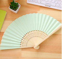 bamboo invitations - High Quality Hot Selling High quality Various Color Cheap Folding Bamboo Wedding Invitation Hand Fan