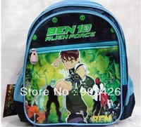 Wholesale by DHL UPS High Quality Ben Children s School Bag Rucksack Cartoon School Backpack G2333