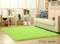 plush carpet - New Fashion Shaggy carpet rug non slip soft bedroom carpet living room dining porch size cm