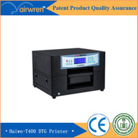 Wholesale New product colours A4 size high quality T shirt printing machine direct to substrate printer Haiwn T400