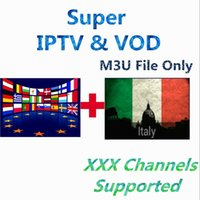 Wholesale 12 Months Italy IPTV Year Super Adult Turkey Dutch Europe Channels VOD Germany UK Polish Portugal EX YU XXX Channels Supported