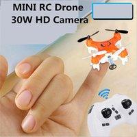 Acheter Hélicoptère de contrôle vidéo-drone d'origine RC 2.4G 4CH 6 Axis Mini RC Quadcopter avec 0.3MP HD hélicoptère caméra de contrôle à distance Avions RC Toys Drone
