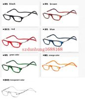 beach reads - 2015 fashion Folding Magnets magnifying reading glasses magnetic Front Connect unisex eyeglasses hang folding quality reader