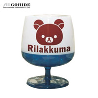 bear kitchen towels - Gohide Bear Pattern Wine Glass Style Design Paper Towel Tube Cylindrical Tissue Kitchen Bedroom Creative Adjustable Tissue Box