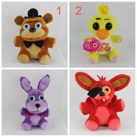 bonnie baby - EMS Five Nights At Freddy s FNAF Freddy cm chica bonnie Bear foxy Plush teddy bear Toys Doll for kids baby christmas doll gift