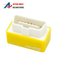 audi performance cars - Yellow NitroOBD2 for Benzine cars is a Plug Drive Ready device to function the increasing the performance of engine OBD2 Chip Tuning