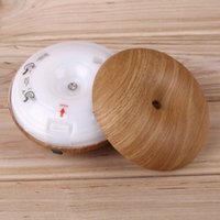Wholesale GX Diffuser GX K Wood Grain Aromatherapy diffuser air humidifier LED Night Light Ultrasonic humidifier air Aroma Diffuser mist maker