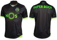 Wholesale Sporting Lisbon Soccer Jersey Jersey de futbol Luis Figo Nanic Home Away rd Football Shirt Top Qualit
