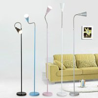Wholesale Contracted and contemporary floor lamp sitting room bedside lamps and lanterns LED lamp shield eye creative landing commercial lighting