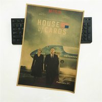 Wholesale Hot TV series drama movie HOUSE of CARDS paper Poster wall s