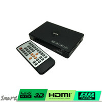Wholesale mini HDMI Media Player P Full HD TV ViHDD TV Players quot SATA Full HD P D HDD Media Player with HDMI VGA AV USB SD MMC with remote