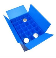 best mail boxes - best quality custom durable lightweight recyclable full color pp plastic cheapest Price Corrugated Plastic Box with Divider