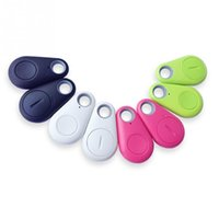 Wholesale Smart Bluetooth Anti lost alarm Tracker GPS Locator kids Wallet Key Pet Dog finder for iPhone Samsung Android