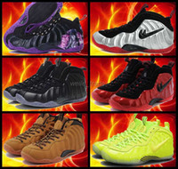 air penny mens - 2016 new air Penny foamposites One galaxy Mens Basketball Shoes Red Black High Quality Sports Shoes hardaway Penny Outdoor Sneakers US